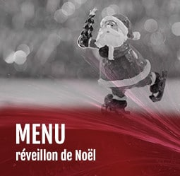 Menu réveillon de Noël Cabaret Diner Spectacle Paris